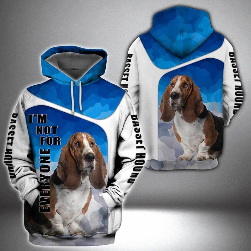 Basset Hound Dog 3D All Over Printed Hoodie AM240828
