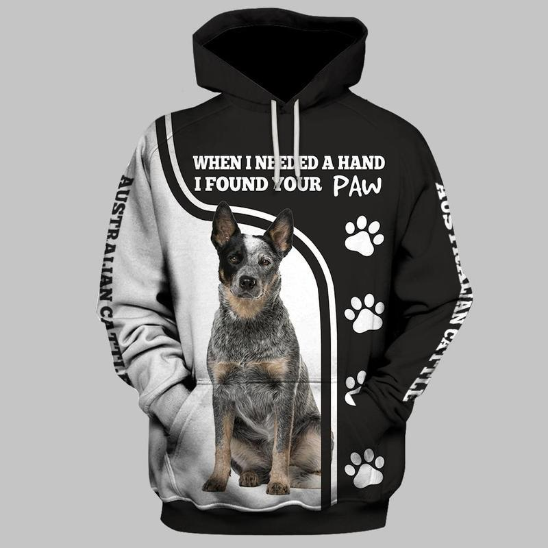 Australian Cattle Dog 3D All Over Printed Hoodie AM210828