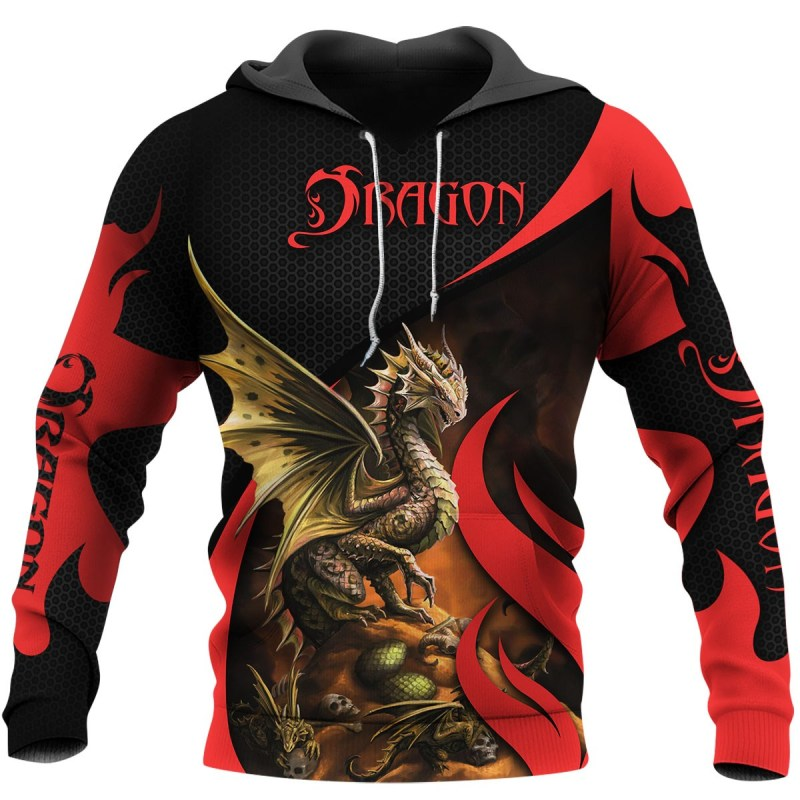 Beautiful Dragon 3D All Over Printed Hoodie AM220626