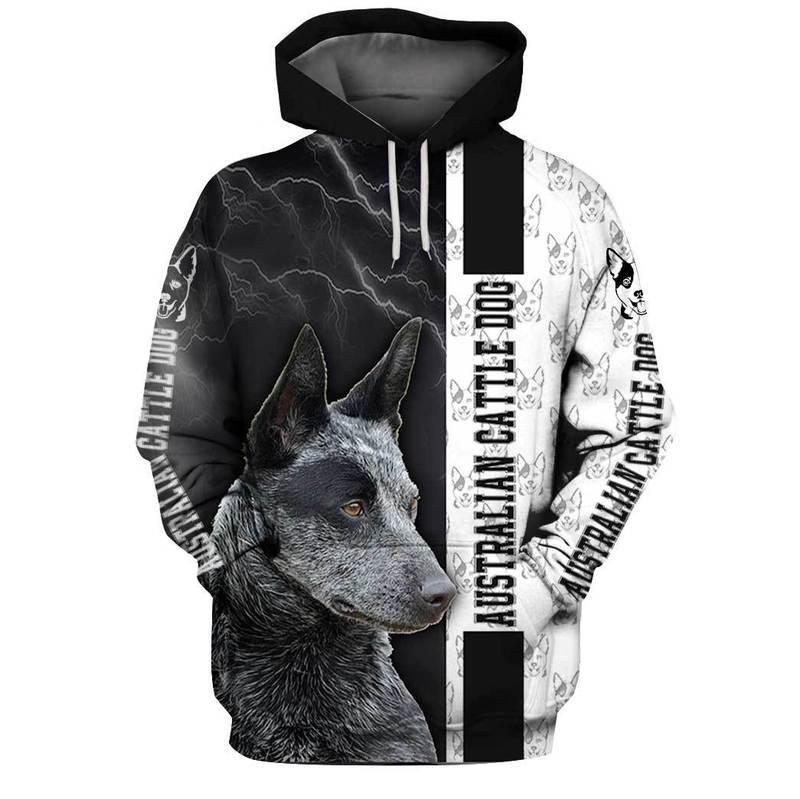 Australian Cattle 3D All Over Printed Hoodie AM210811