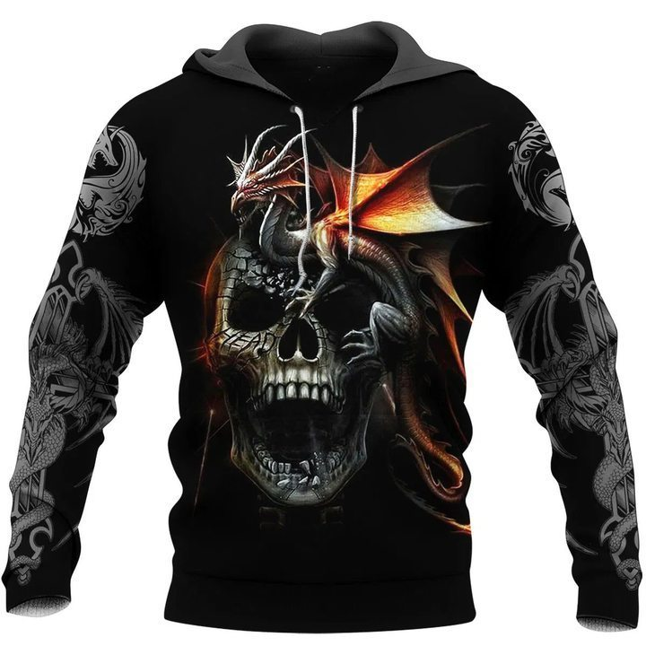 Dragon 3D All Over Printed Hoodie AM220606