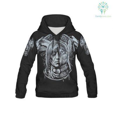 The Nice Shirts - Wolf 3D Hoodie - Czechoslovakian Wolfdog 3D All Over Hoodie 3D Hoodie