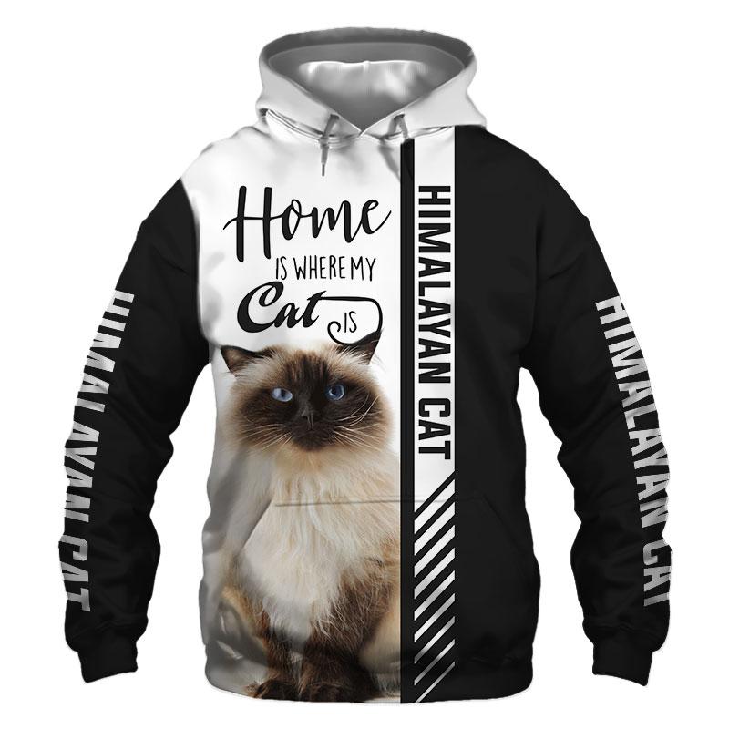 Himalayan cat Hoodie, Sweatshirt, TShirt, Jacket