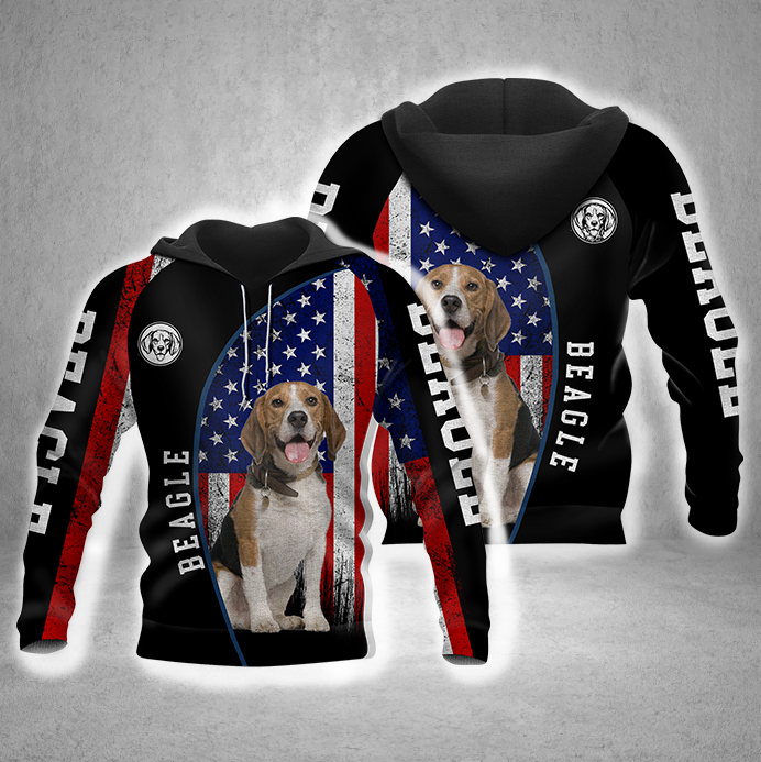 Beagle 3D All Over Printed Hoodie BT170832