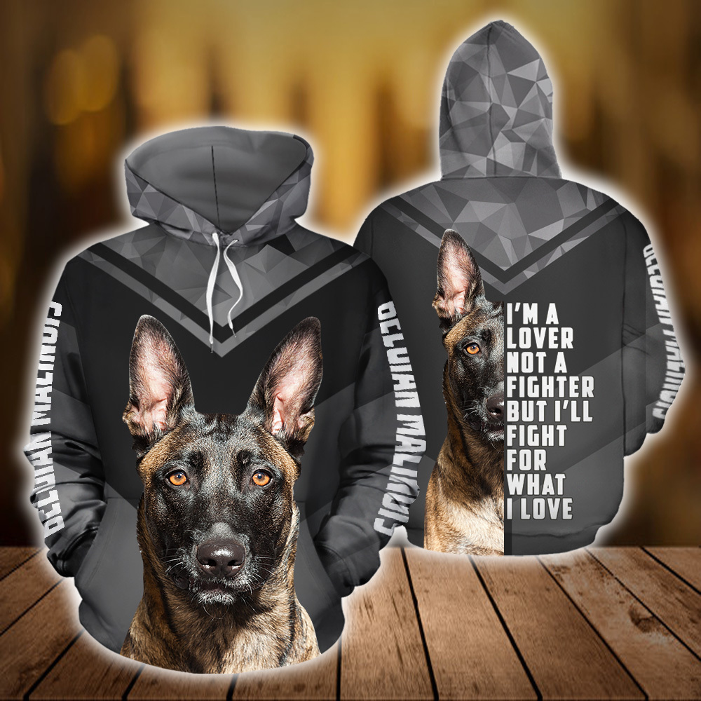 Belgian Malinois Dog 3D All Over Printed Hoodie AM130829