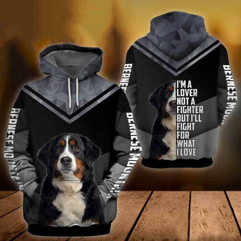 Bernese Mountain Dog 3D All Over Printed Hoodie AM210868
