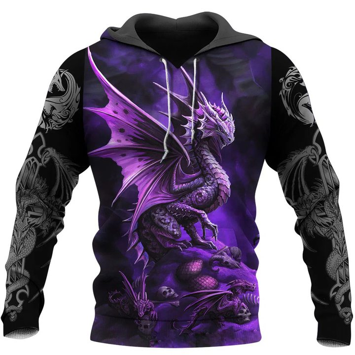 Dragon 3D All Over Printed Hoodie AM220605