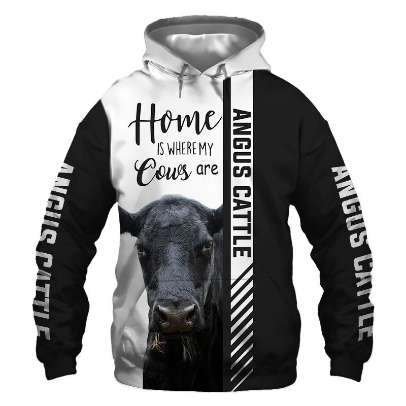 Angus cattle Hoodie, Sweatshirt, TShirt, Jacket