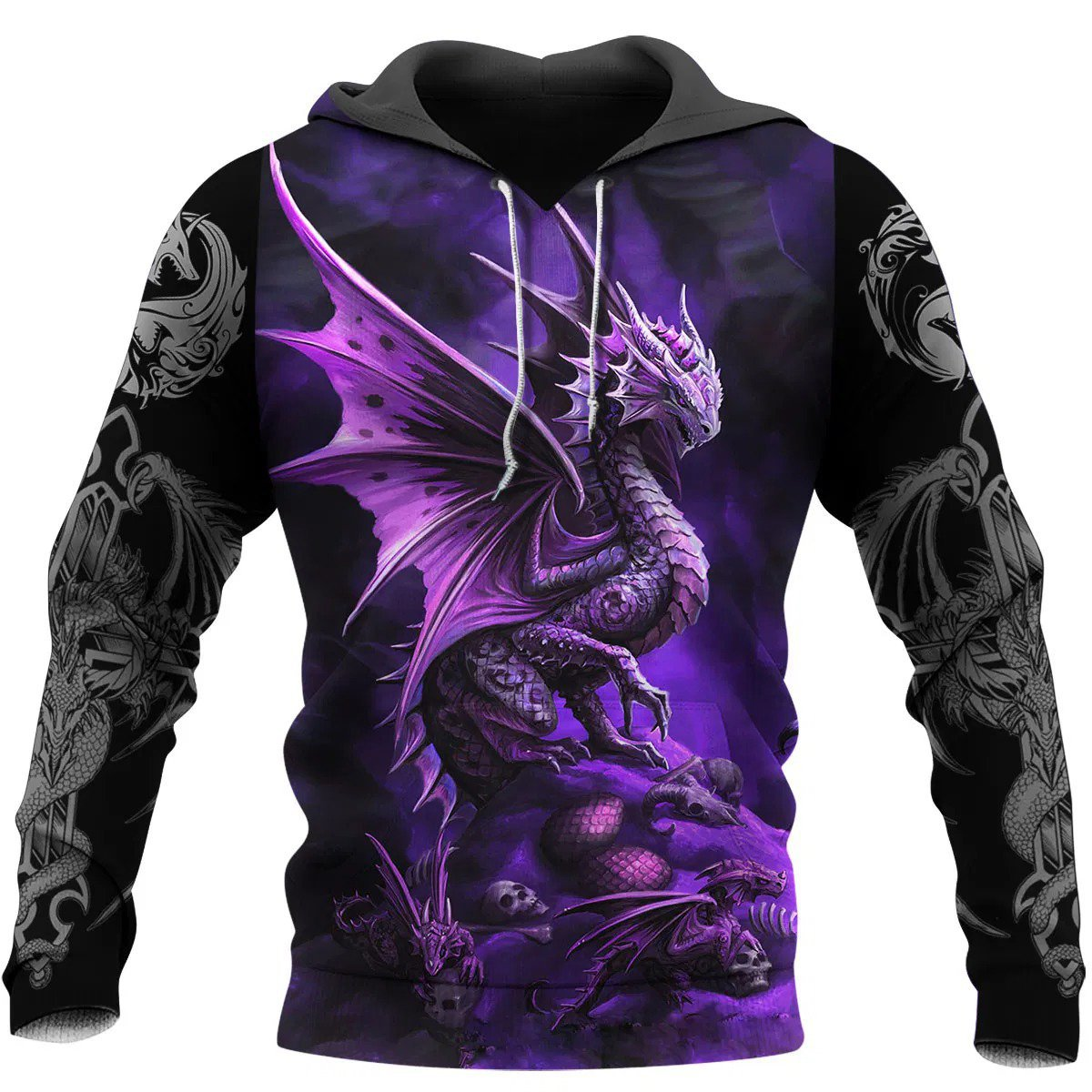 Dragon 3D All Over Printed Hoodie AM200629