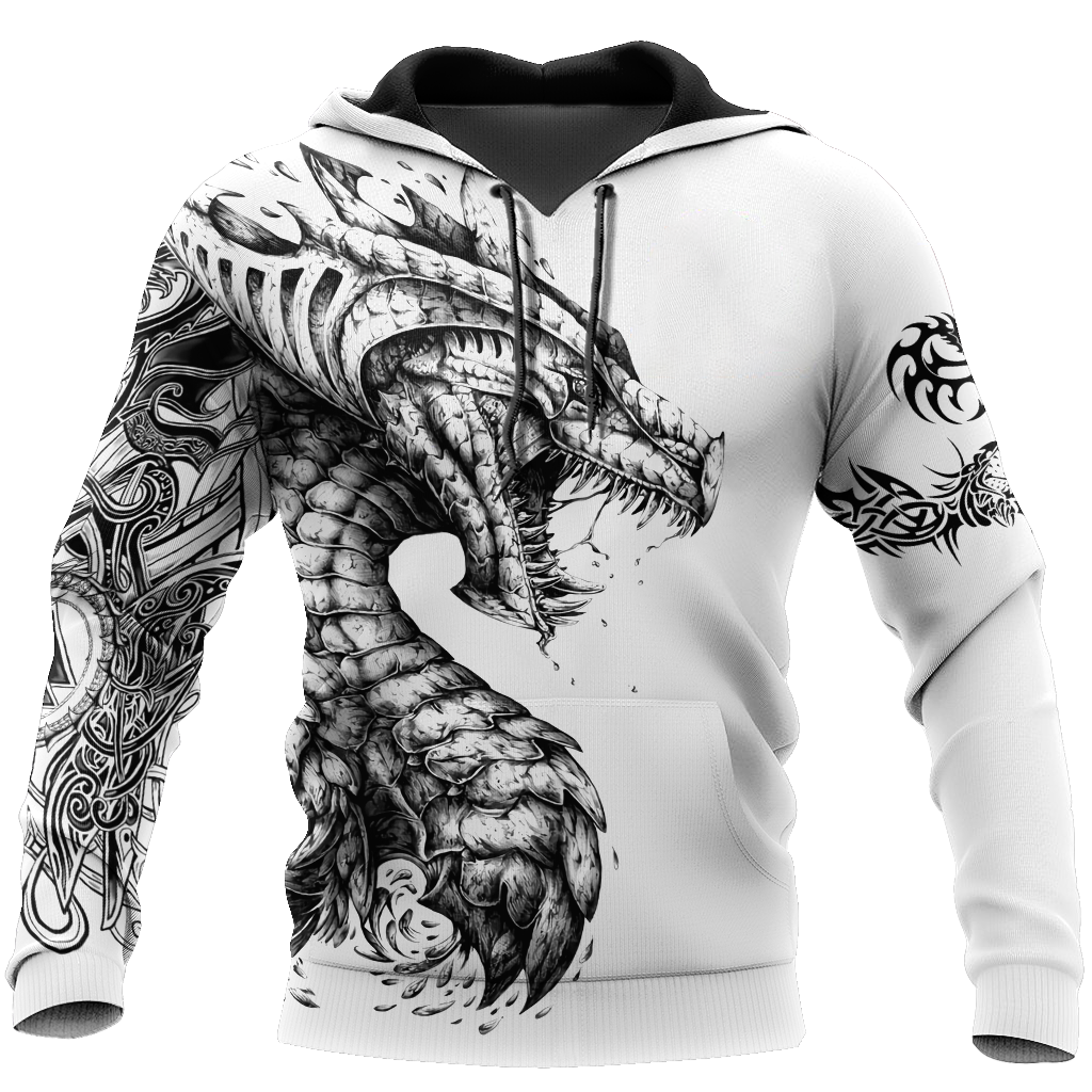 Dragon 3D All Over Printed Hoodie AM200632