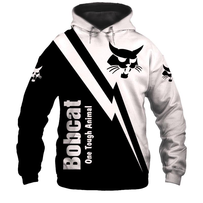 Bobcat heavy Equipment full print Hoodie Tshirt Sweatshirt Blanket Fleece blanket