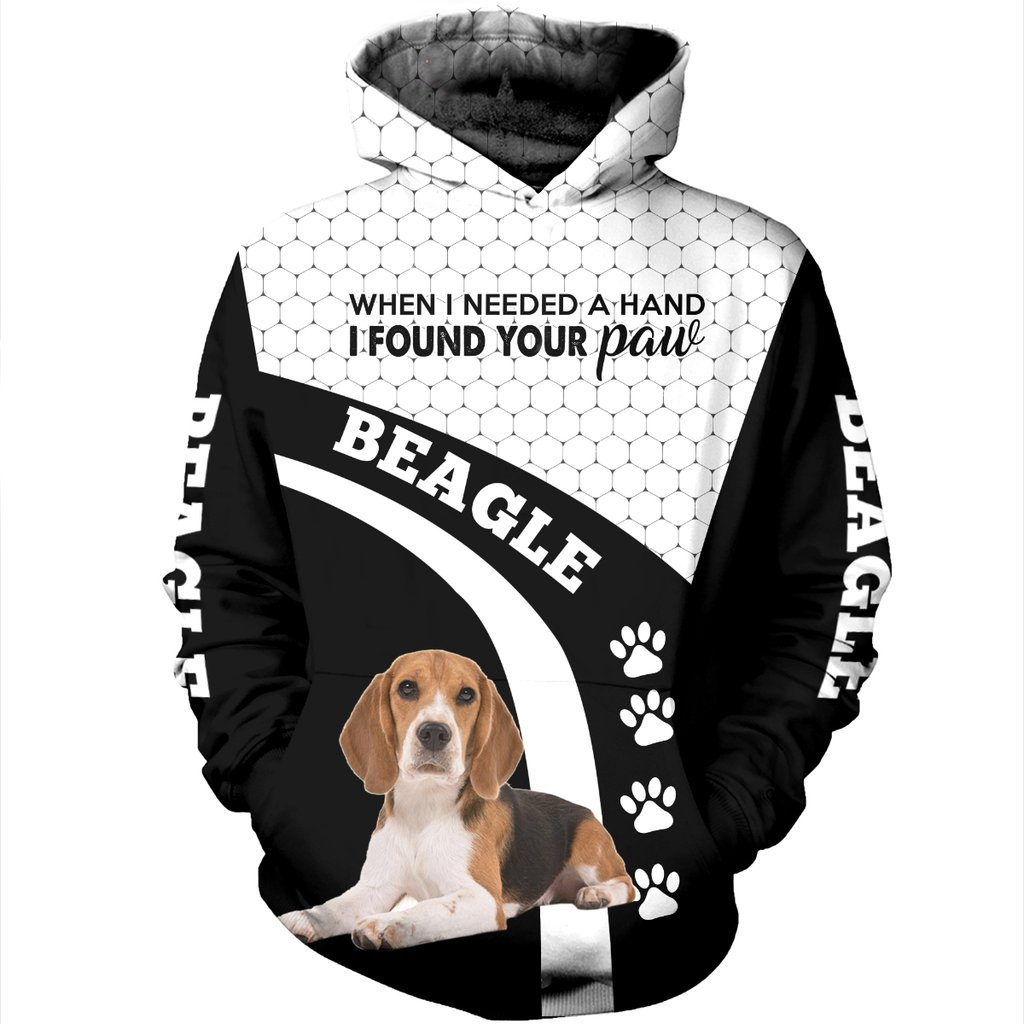 Beagle Dog 3D All Over Printed Hoodie AI160919