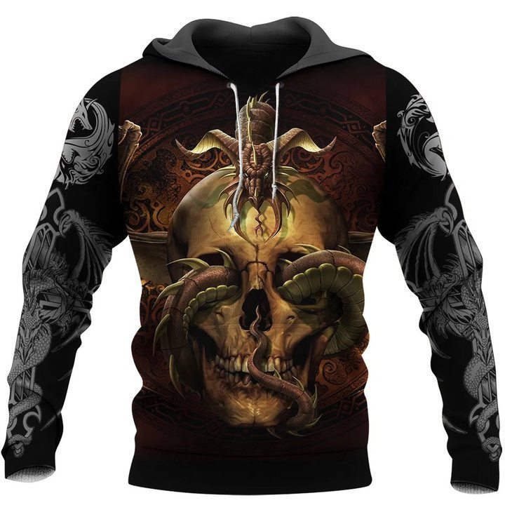 Dragon 3D All Over Printed Hoodie AM220607