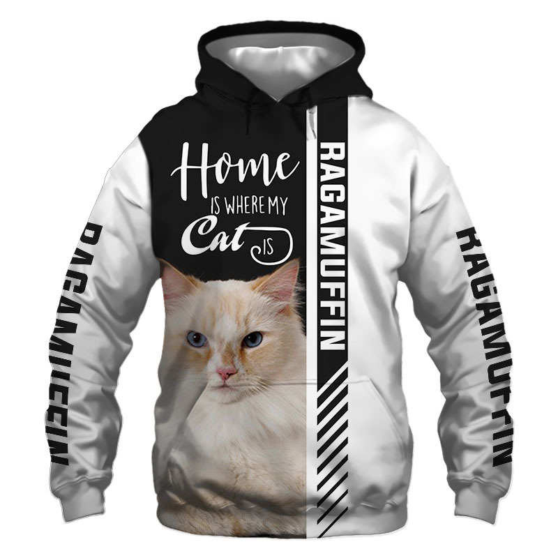 Ragamuffin cat Hoodie, Sweatshirt, TShirt, Jacket