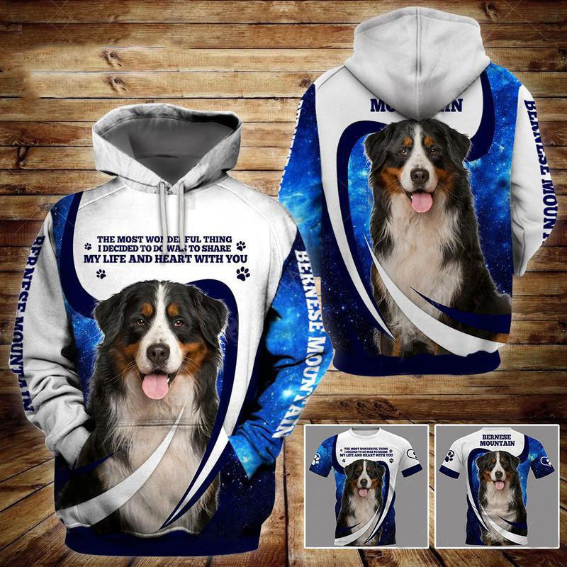 Bernese Mountain Dog 3D All Over Printed Hoodie AM220807