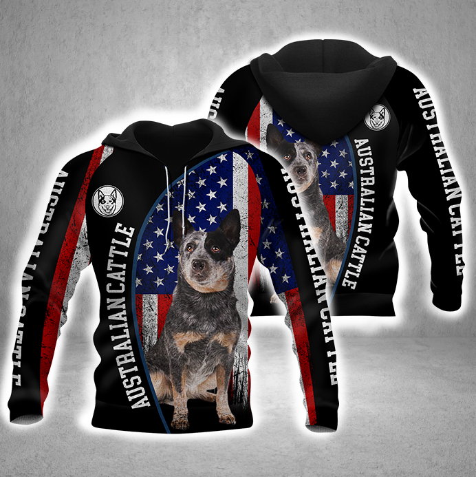 Australian Cattle 3D All Over Printed Hoodie BT170840